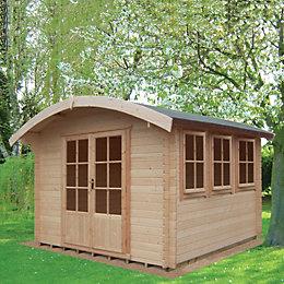 12x14 Kilburn 28mm Tongue & Groove Log cabin