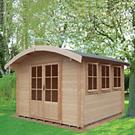 12x14 Kilburn 28mm Tongue & Groove Log cabin With assembly service