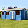 20x10 Mammoth Loglap Wooden Workshop With assembly service