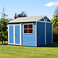 12x12 Mammoth Loglap Wooden Workshop With assembly service