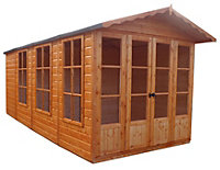 13x7 Kensington Shiplap Shed Assembly included
