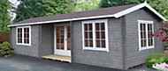 26x14 Elveden 44mm Tongue & Groove Log cabin With assembly service