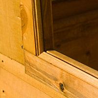 8x6 Caldey Pent Shiplap Wooden Shed