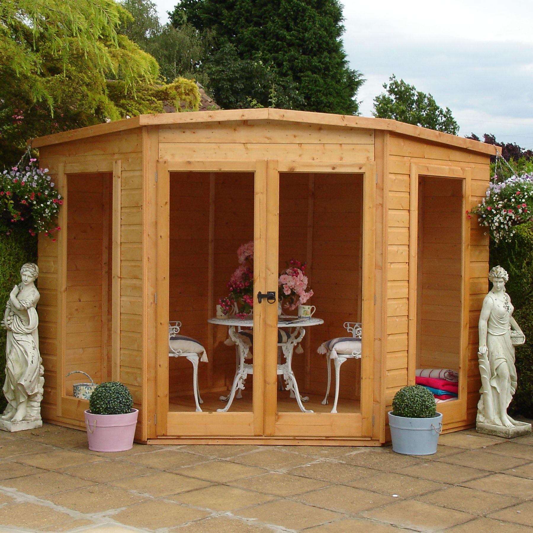 8x8 barclay shiplap timber summerhouse departments diy. Black Bedroom Furniture Sets. Home Design Ideas