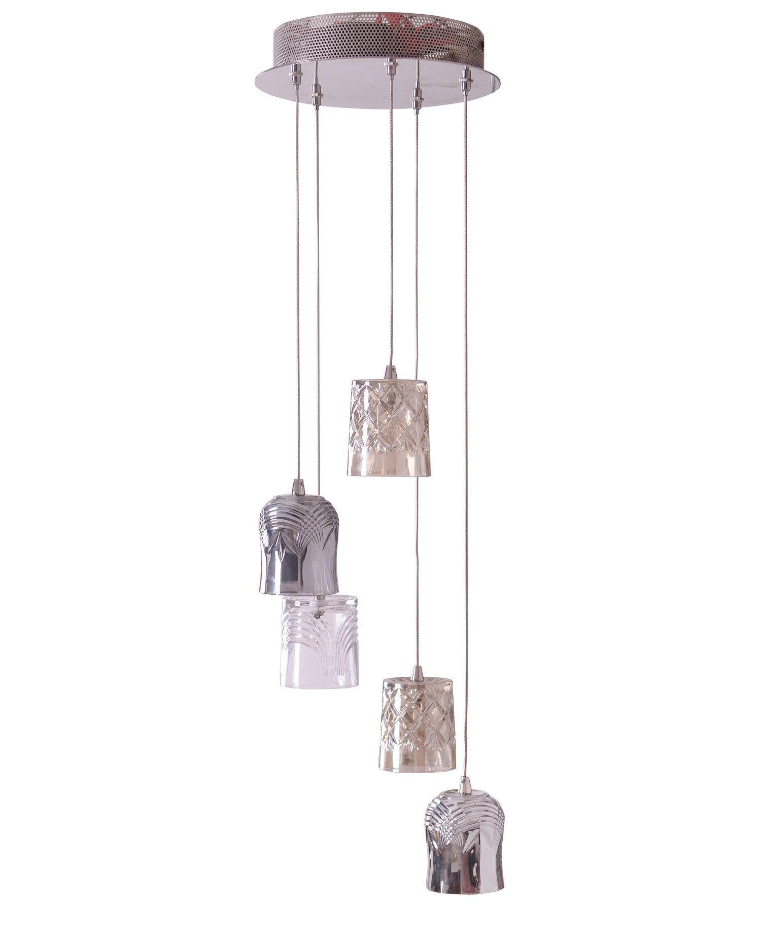 Brogo cluster nickel effect 5 lamp pendant ceiling light brogo cluster nickel effect 5 lamp pendant ceiling light departments diy at bq aloadofball Gallery