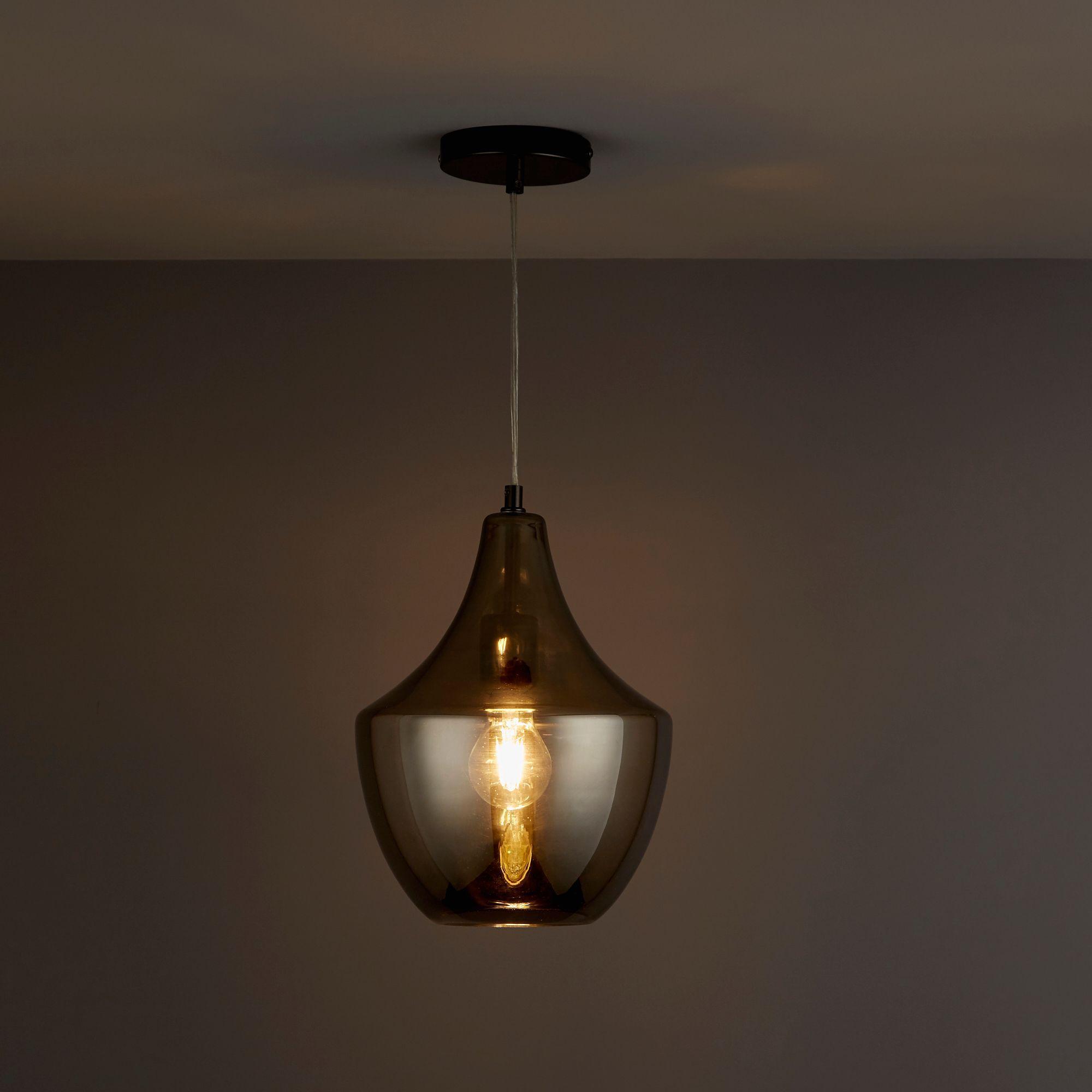 Honor Smoked Pendant ceiling light