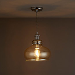Drew Champagne Pendant Ceiling Light