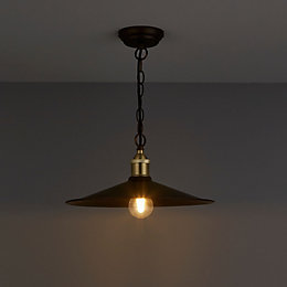Alfie Bronze Effect Pendant Ceiling Light