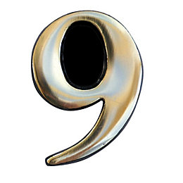 Brass House Number 9