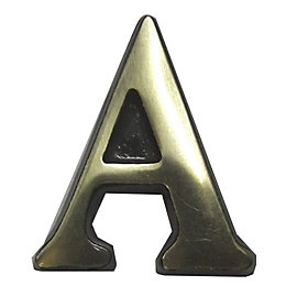 Brass House Letter A