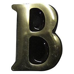 Brass House Letter B