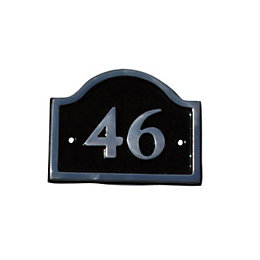 Aluminium Brass Bridge Door Number 46