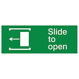 The House Nameplate Company PVC Self Adhesive Slide