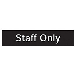 The House Nameplate Company PVC Self Adhesive Staff