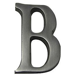 Aluminium House Letter B
