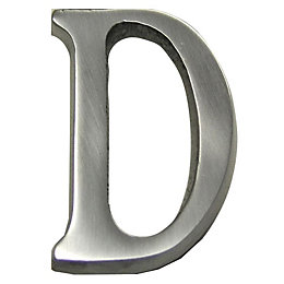 Aluminium House Letter D