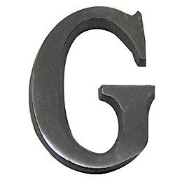 Aluminium House Letter G