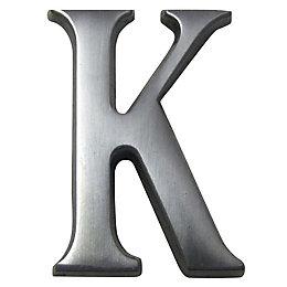 Aluminium House Letter K