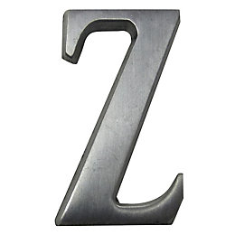 Aluminium House Letter Z