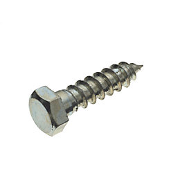 M10 Coach screw (L) 40mm (Dia) 10mm, Pack