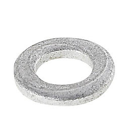 AVF M6 Galvanised Steel Flat Washer, Pack of