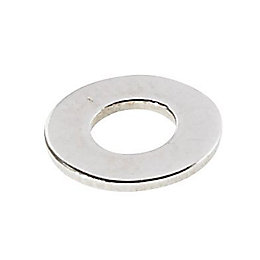 AVF M4 Stainless Steel Flat Washer, Pack of