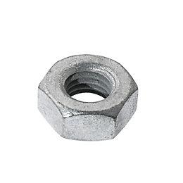 AVF M10 Steel Hex Nut, Pack of 10