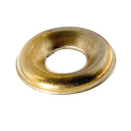 AVF M6 Brass Screw Cup Washer, Pack of