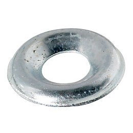 AVF M6 Steel Screw cup washer, Pack of