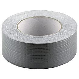Heavy Duty Silver Gaffer Tape (L)50M (W)100mm
