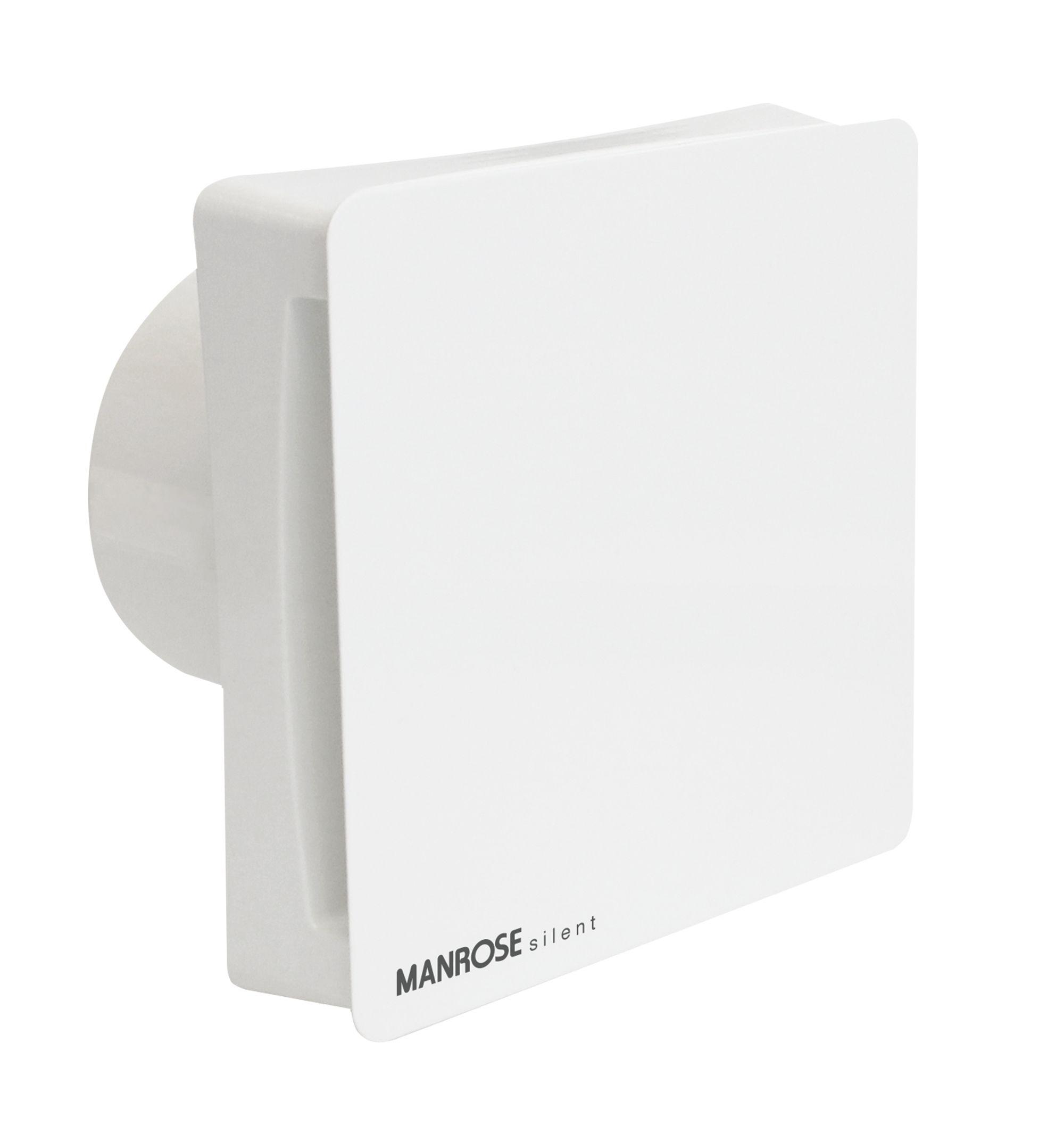 Manrose CSF100T Bathroom Extractor fan (Dia)99mm ...