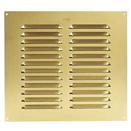 Manrose Gold Effect Louvered Vent