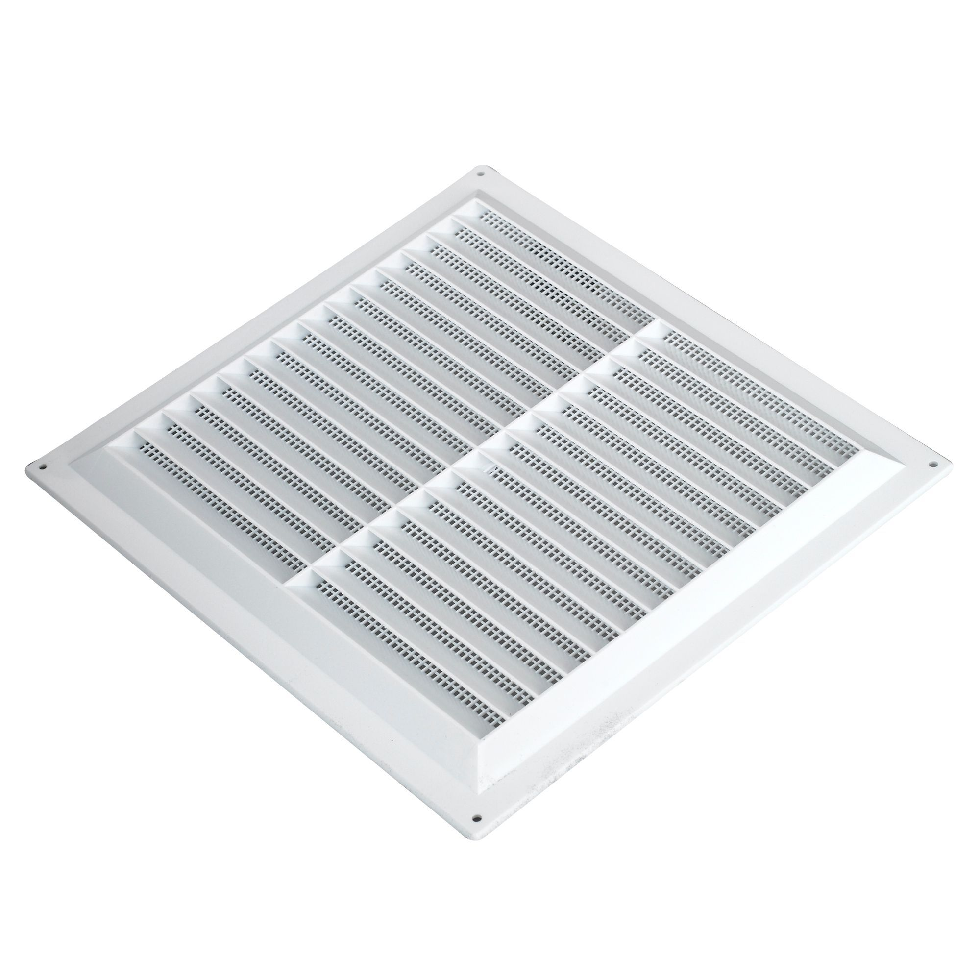 Manrose White Louvered Vent Departments Tradepoint