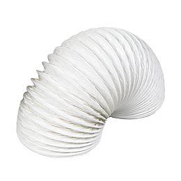 Manrose White Flexible Ducting, Pack of 1