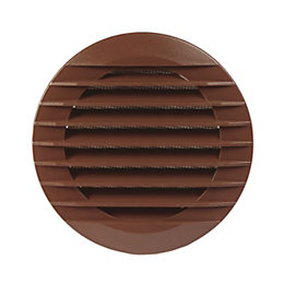 Manrose Brown External hooded wall vent