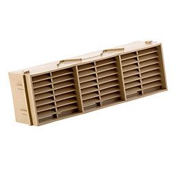 Manrose Beige Brick Vent (H)76mm (W)229mm
