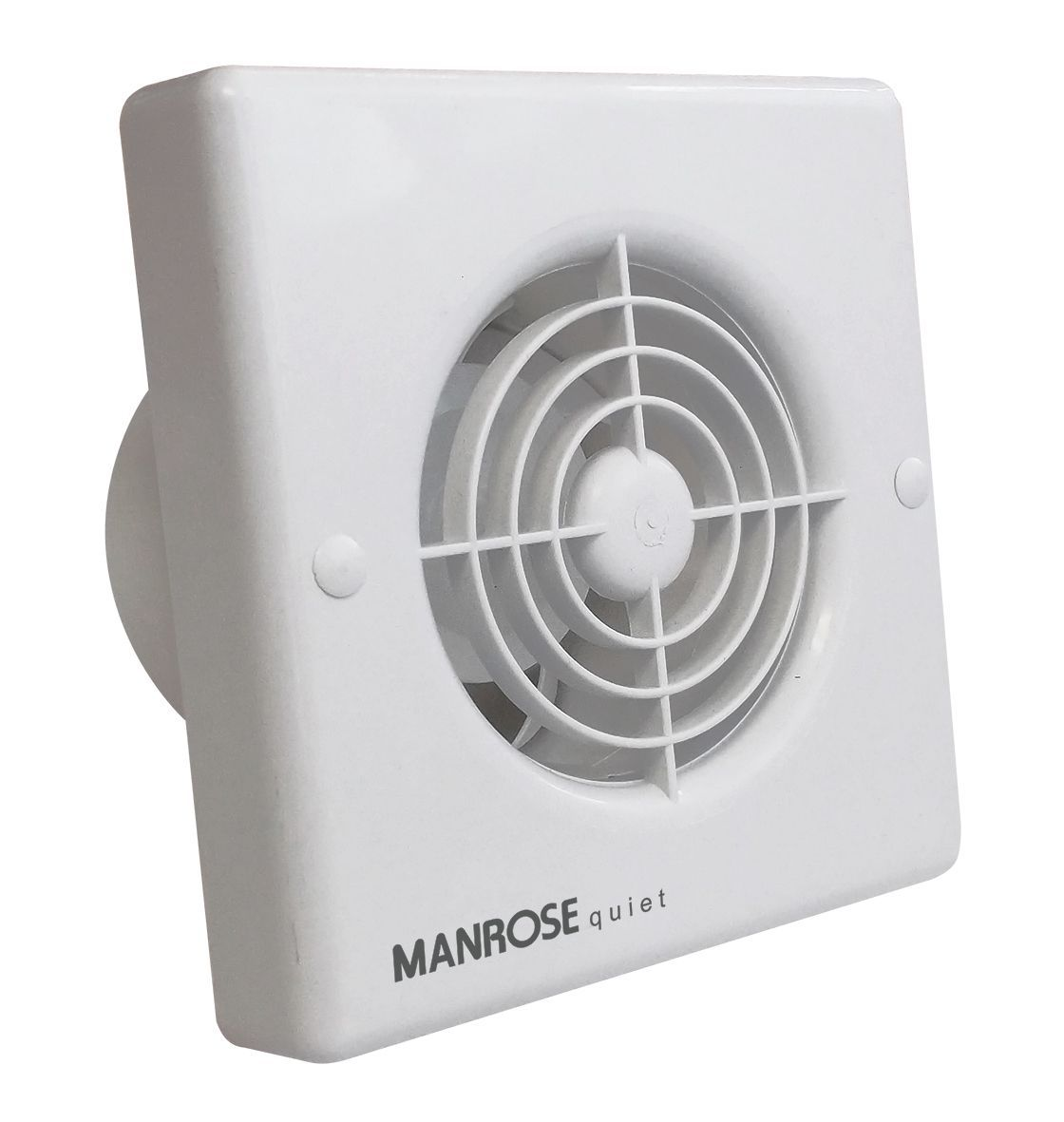 Manrose qf t bathroom extractor fan with timer d mm
