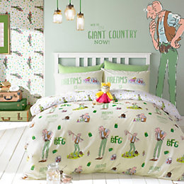 Roald Dahl Big Friendly Giant Multicolour Single Bed