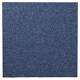 Colours Dark Blue Carpet Tile