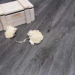 Grey Charcoal Effect Luxury Vinyl Click Flooring Sample