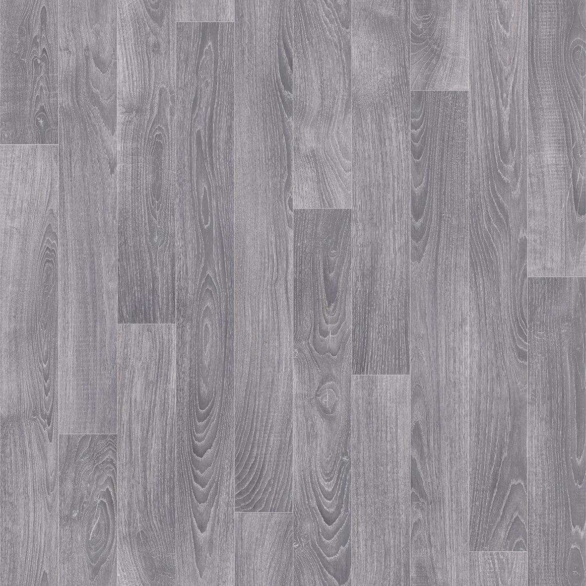 Grey Oak Effect Vinyl Flooring 4m²