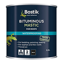 Bostik Black Waterproofing bituminous mastic 2500ml