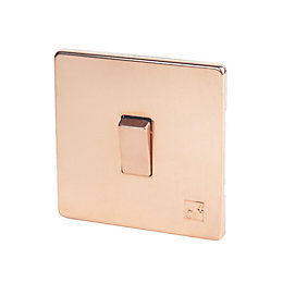 Varilight 10A 2-Way Single Anti-microbial copper Light switch
