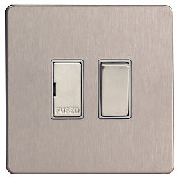 Varilight 13A Double Pole Switched Fused Connection Unit