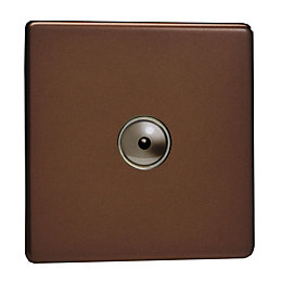 Varilight 1-Way Single Mocha Satin Remote Control Dimmer