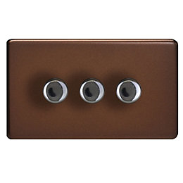 Varilight 2-Way Double Mocha Iridium Switch