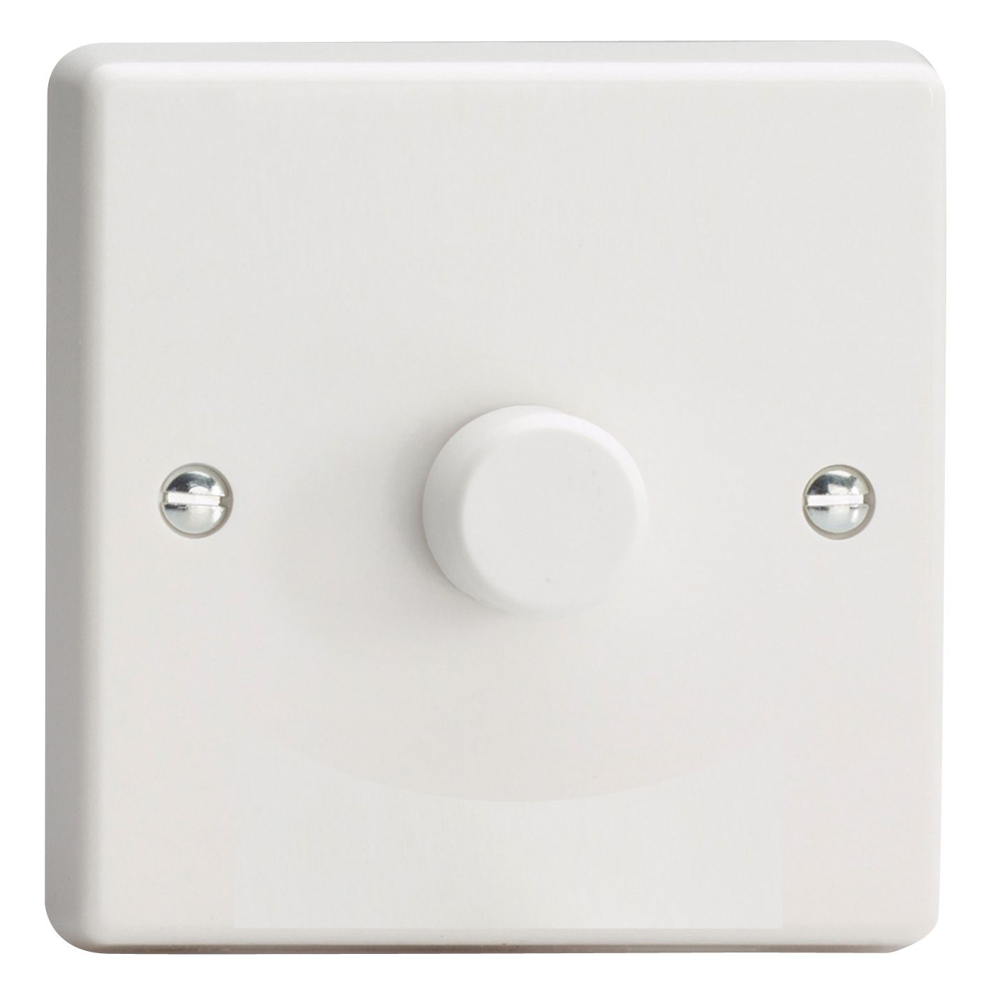 Varilight 2 Way Single White Plastic Dimmer Switch Departments 3 Dimmers Diy At Bq