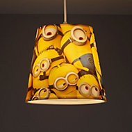 Minions Yellow Printed Light shade (D)240mm
