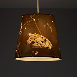 Disney Star Wars Multicolour Character print Light shade