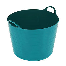Flexi Heavy duty Bluebird blue 40L Plastic Stackable